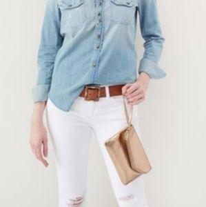 NWT Hobo Daria Leather Crossbody Bag